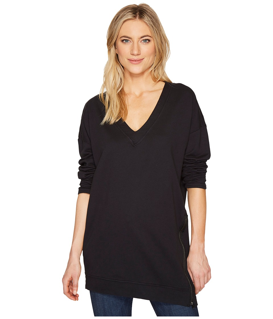 HEATHER - Jones Asymmetrical Zip Pullover