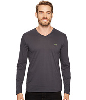 Lacoste - Long Sleeve V-Neck Tee Shirt