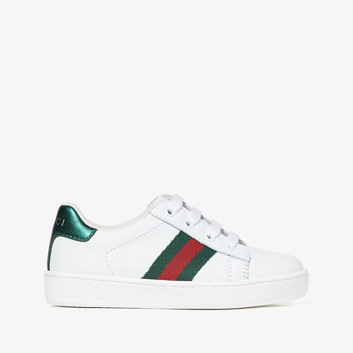 Gucci Kids New Ace Sneakers (Toddler) at Luxury.Zappos.com