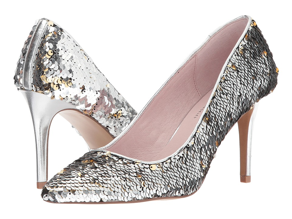 Chinese Laundry Ruthy (Silver Multi Sequins) High Heels