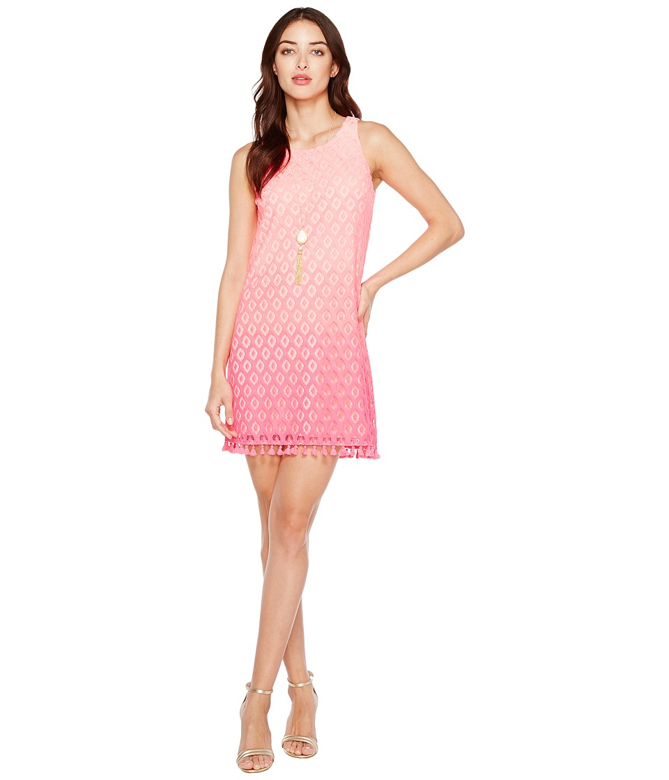 Lilly Pulitzer Marquette Shift (Dragonfruit Pink Island Ombre) Women