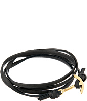 Miansai - Mini Modern Anchor Leather Bracelet