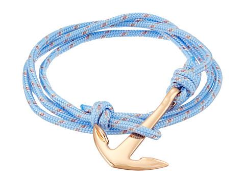 Miansai Rope Anchor Bracelet - Sky Blue