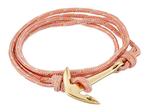 Miansai Rope Anchor Bracelet - Pink