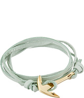 Miansai - Leather Anchor Bracelet
