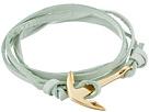 Miansai Leather Anchor Bracelet