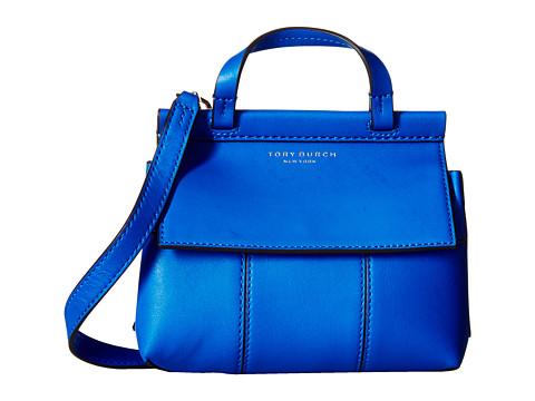 Tory Burch Block-T Mini Satchel - Galleria Blue