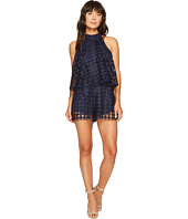 ROMEO & JULIET COUTURE - Eyelet Pop-Over Romper