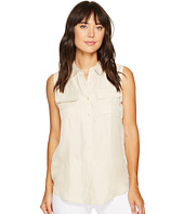ROMEO & JULIET COUTURE - Sleeveless Button-Up Shirt