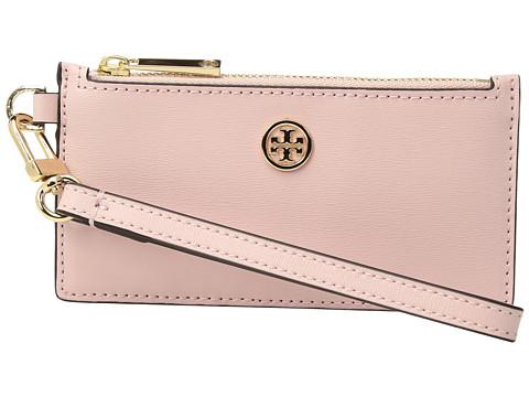 Tory Burch Parker Zip Card Case - Pink Quartz