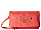 Tory Burch Perforated Logo Fold-Over Crossbody