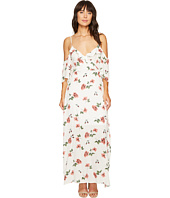 ROMEO & JULIET COUTURE - Floral Cold Shoulder Dress