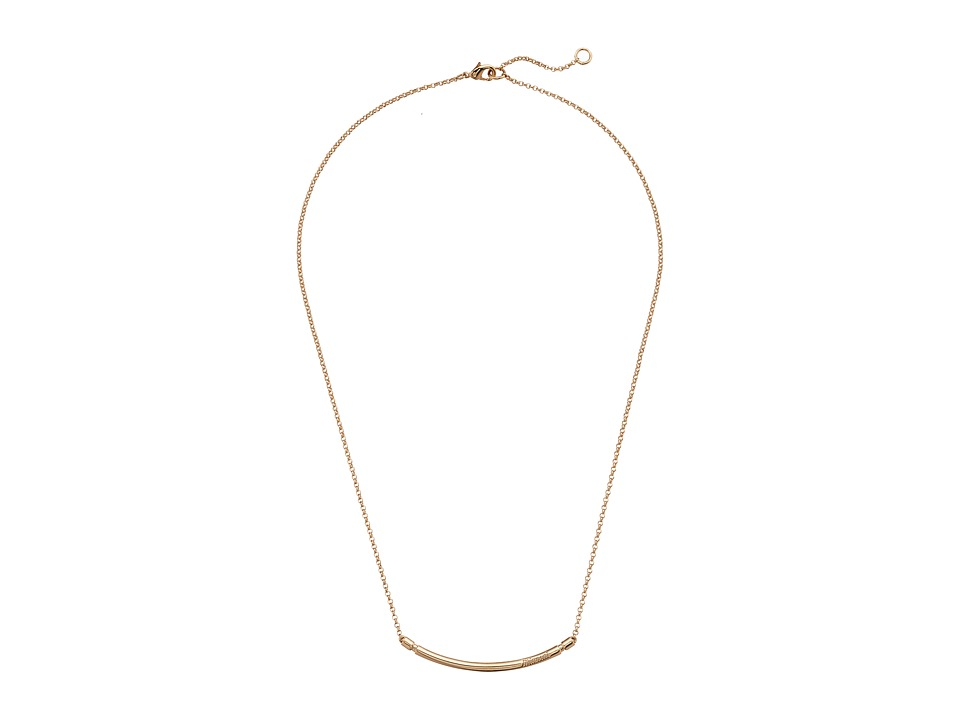 Miansai - Channel Necklace (Polished Gold) Necklace