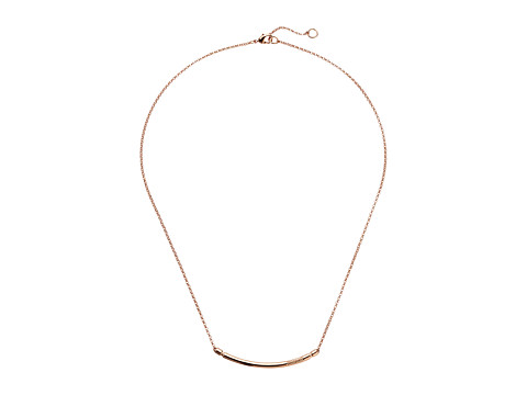 Miansai Channel Necklace - Polished Rose