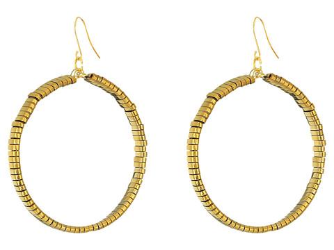 Vanessa Mooney The Skylar Hoops Earrings - Gold