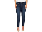 KUT from the Kloth Petite Diana Kurvy Skinny in Saintly w/ Dark Stone Base Wash