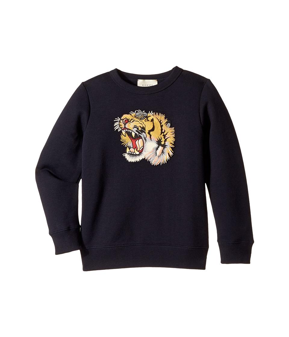 Gucci Kids - Sweatshirt 463003X9D61 (Big Kids) (Urban Blue) Boys Sweatshirt