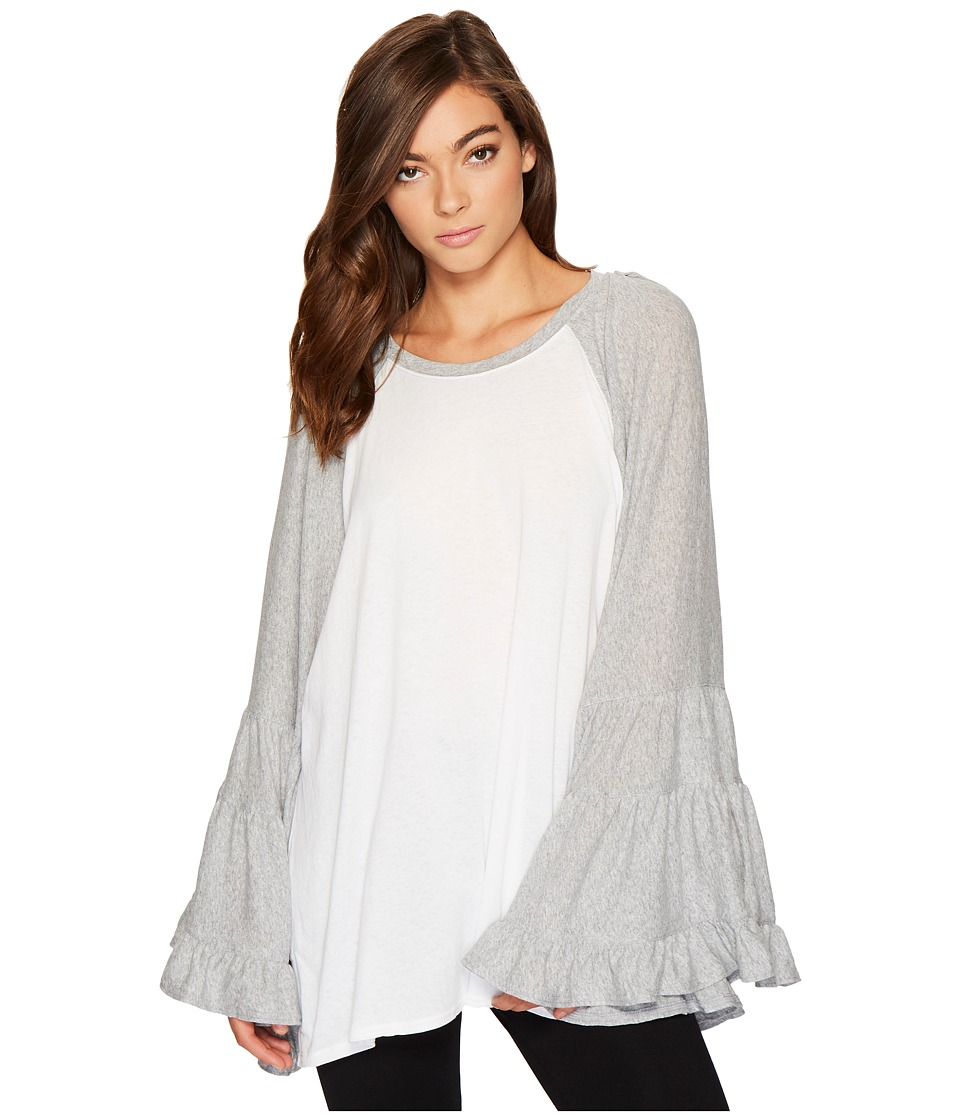 Free People No Crying in Baseball Tee (Ivory) Women