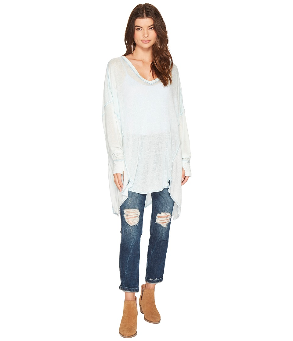 Free People Never Give Up Tee (Sky) Women