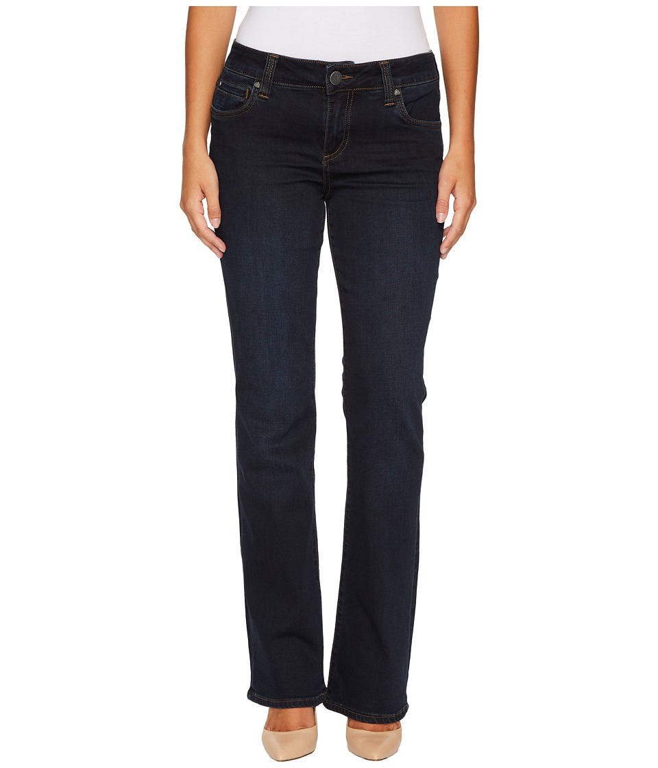 KUT from the Kloth Petite Natalie High-Rise Bootcut in Immeasurable w/ Euro Base Wash (Immeasurable/Euro Base Wash) Women