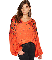 Free People - Music in Time Embroidered Top