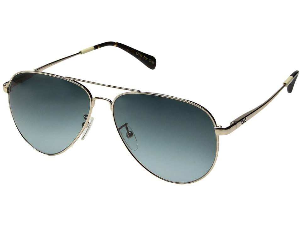 TOMS - Maverick 301 (Gold 1) Fashion Sunglasses