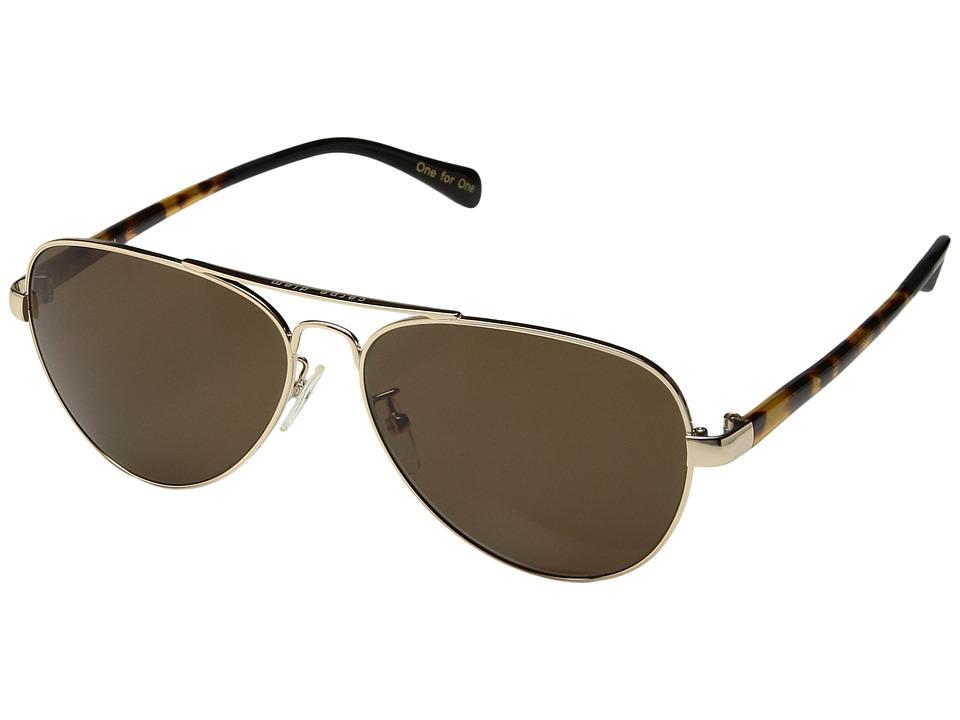 TOMS - Maverick 201 (Gold 2) Fashion Sunglasses