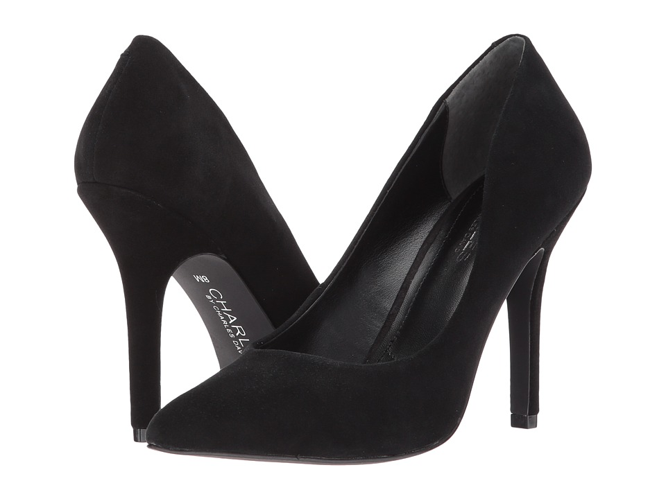 Charles by Charles David Maxx (Black Suede) High Heels
