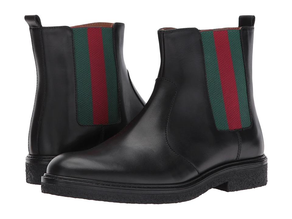 Gucci Kids Joshua Bootie (Little Kid/Big Kid) (Black) Kids Shoes