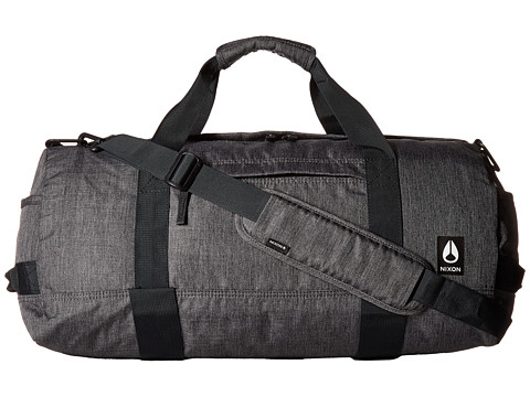 Nixon Pipes Duffel II - Charcoal Heather