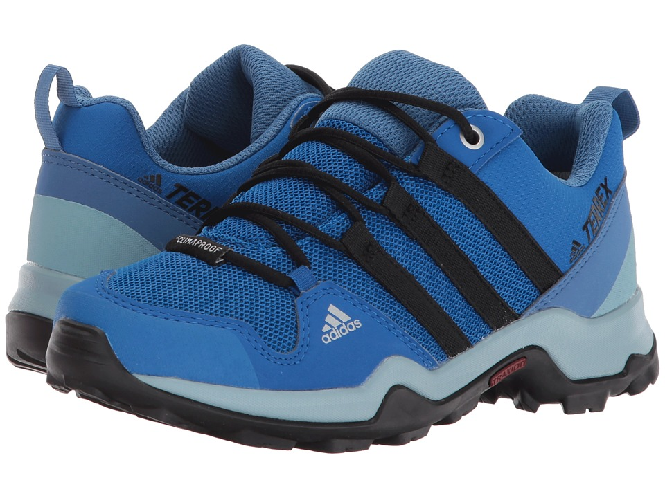 adidas Outdoor Kids Terrex AX2R CP (Little Kid/Big Kid) (Blue Beauty/Black/Ash Grey) Boys Shoes