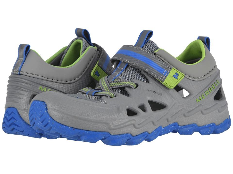 Merrell Kids - Hydro 2.0 (Big Kid) (Grey/Blue) Boys Shoes