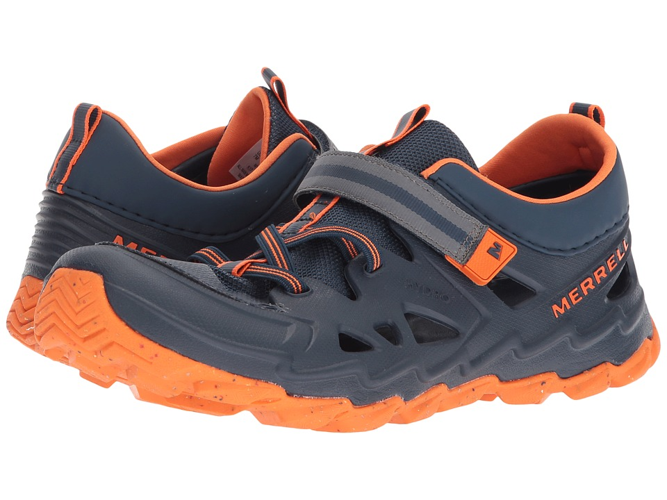 Merrell Kids Hydro 2.0 (Big Kid) (Navy/Orange) Boys Shoes