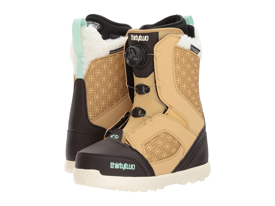 thirtytwo STW Boa W '17 (Tan/Black) Girls Shoes