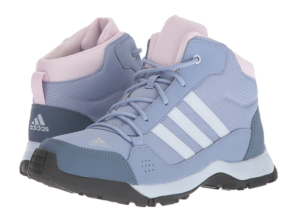 adidas Outdoor Kids - Hyperhiker (Little Kid/Big Kid) (Chalk Blue/Aero Blue/Aero Pink) Girls Shoes