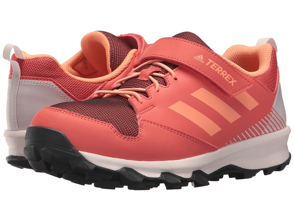 adidas Outdoor Kids Terrex Tracerocker CF (Little Kid/Big Kid) (Trace Scarlet/Chalk Coral/Orchid Tint) Girls Shoes