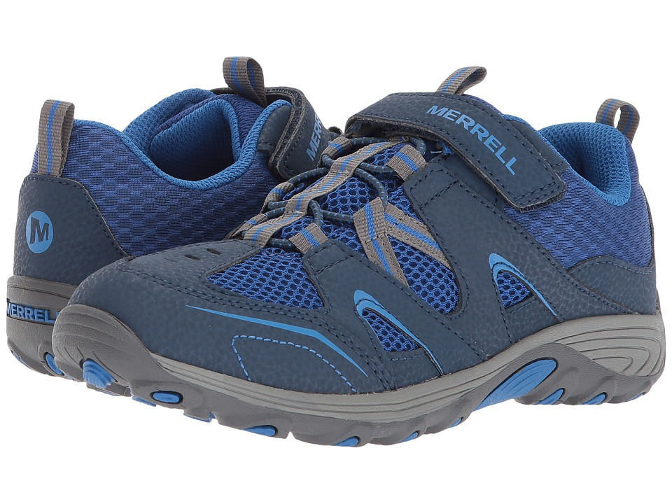 Merrell Kids Trail Chaser (Big Kid) (Navy/Blue) Boys Shoes