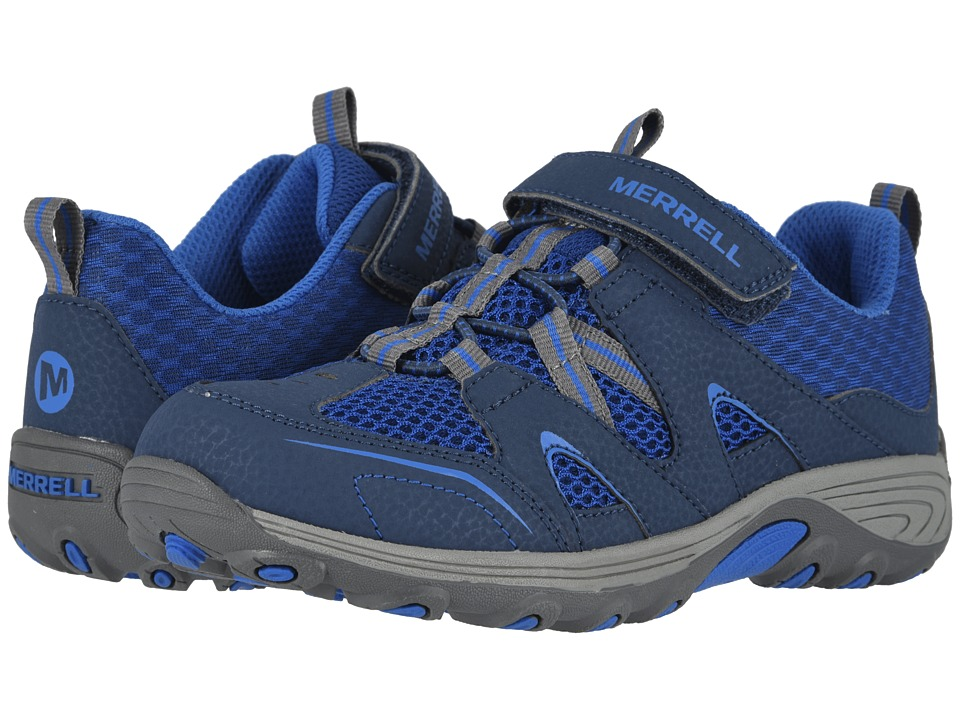 Merrell Kids Trail Chaser (Little Kid) (Navy/Blue) Boys Shoes