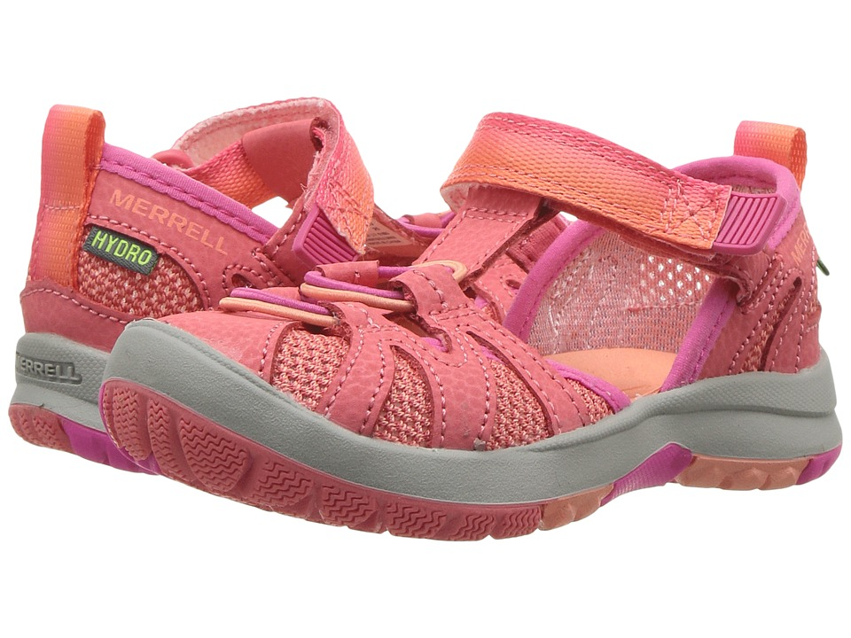 Merrell Kids Hydro Monarch Junior 2.0 (Toddler) (Coral) Girls Shoes