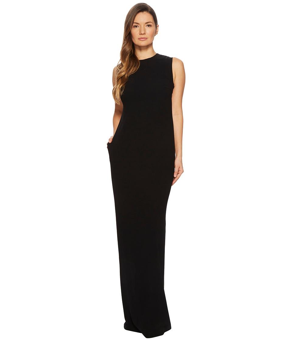 ESCADA - Gsanna Sleeveless Gown (Black) Women's Dress