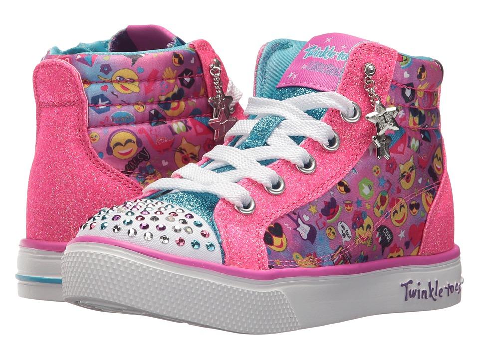 SKECHERS KIDS Twinkle Breeze 2.0 10879L Lights (Little Kid/Big Kid) (Multi) Girl's Shoes