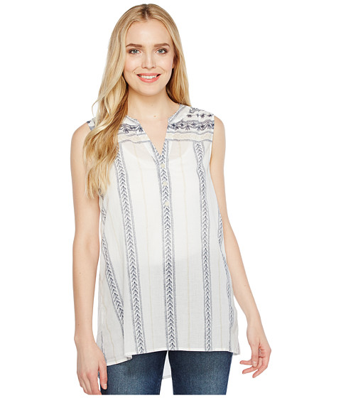 Dylan by True Grit French Market Sleeveless Blouse