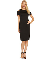 Calvin Klein - Cold Shoulder Scuba Dress CD7M114R