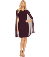 Calvin Klein - Sheath Dress with Cape CD6B114C