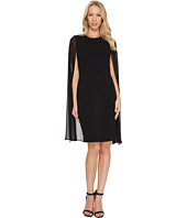 Calvin Klein - Sheath Dress with Cape CD6B114C