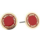 Marc Jacobs - Logo Disc Enamel Studs Earrings