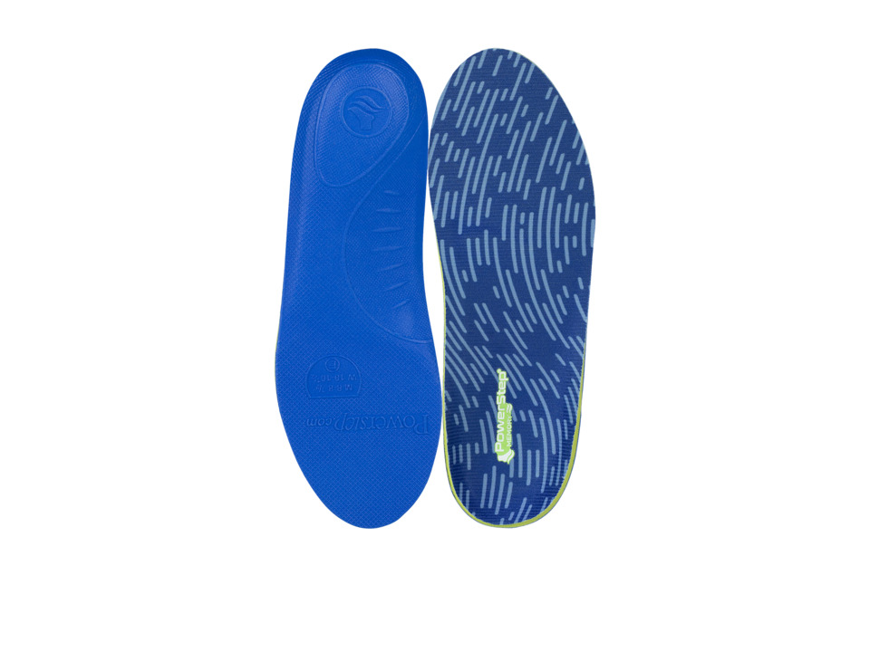 PowerStep Memory Foam Insoles (Blue) Insoles Accessories ...