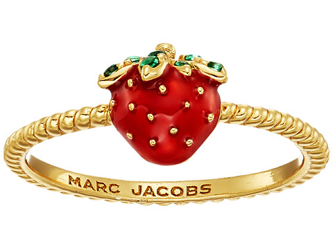Marc Jacobs Something Special Strawberry Ring - Gold