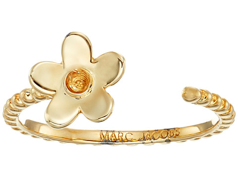 Marc Jacobs Something Special Daisy Open Ring - Gold