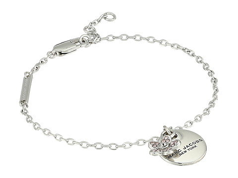 Marc Jacobs MJ Coin Bracelet - Silver